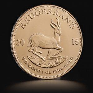 Lige nu finder du den ikoniske Krugerrand, den moderne investeringsguldmønts fader, til lige over 12.700 kroner hos Tavex. Tilbuddet gælder gamle årgange. Foto: Tavex